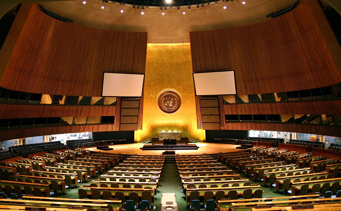 UN General Assembly votes on uranium weapons with a large majority in favour of the resolution