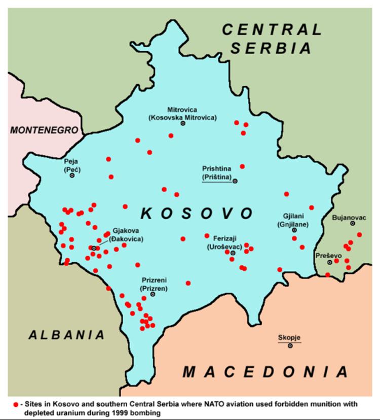 Kosovo-Aktivist berichtet von hohen Krebsraten