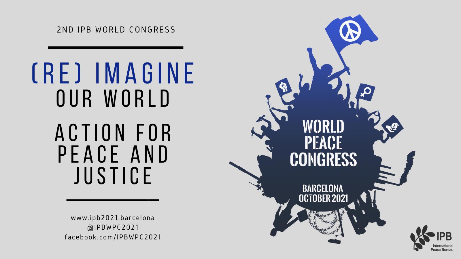 IPB World Peace Congress: ICBUW Veranstaltung