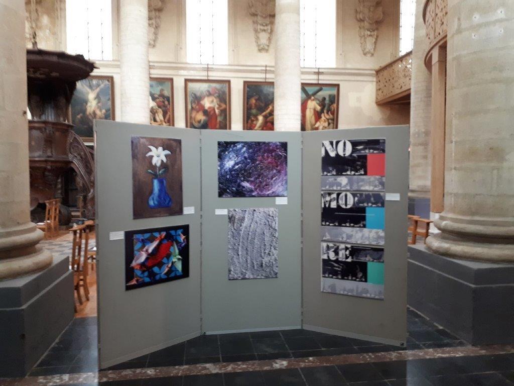 """August 2021 exhibition in Leuven, Belgium: """"No more hibakusha!"""""""